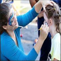 Face Painting Greenville Nc