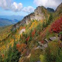 Grandfather Mountain Sightseeing in North carolina