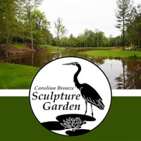 Carolina Bronze Sculpture Garden in Seagrove, NC
